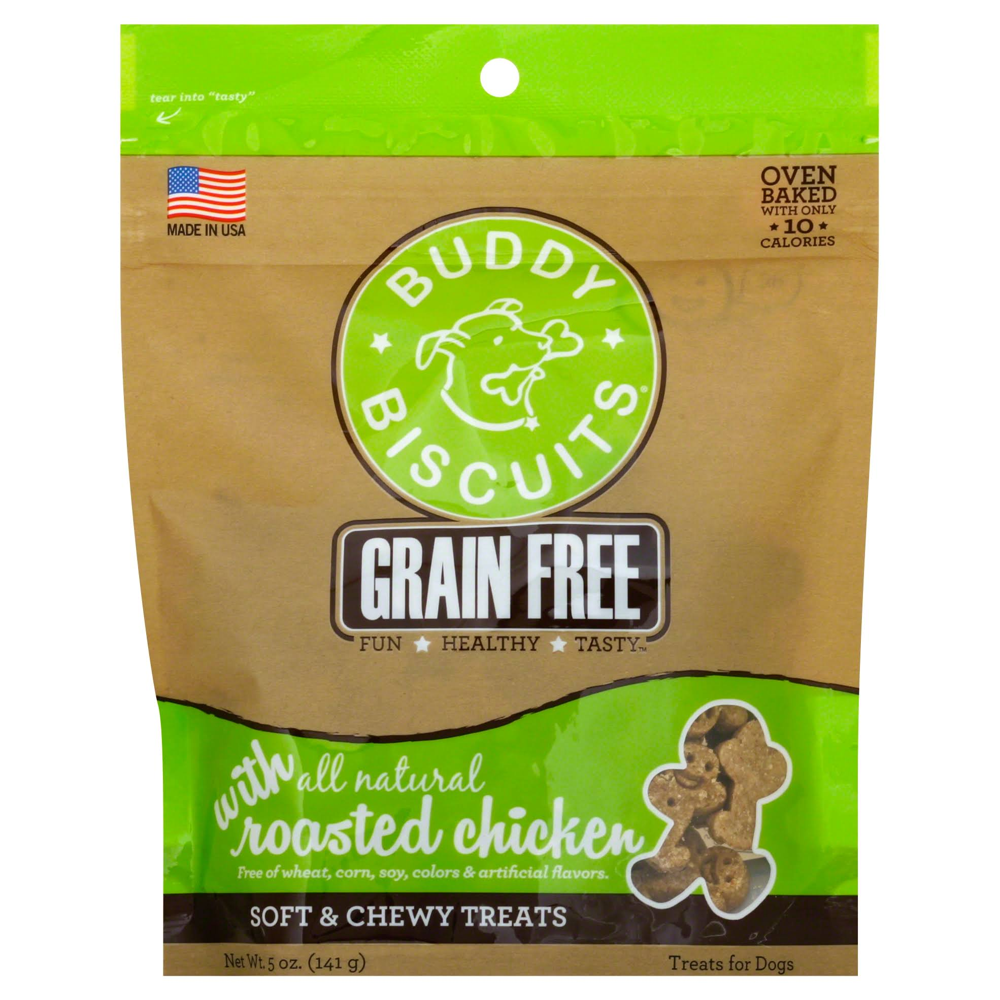 Cloud Star Grain Soft & Chewy Buddy Biscuits - Chicken