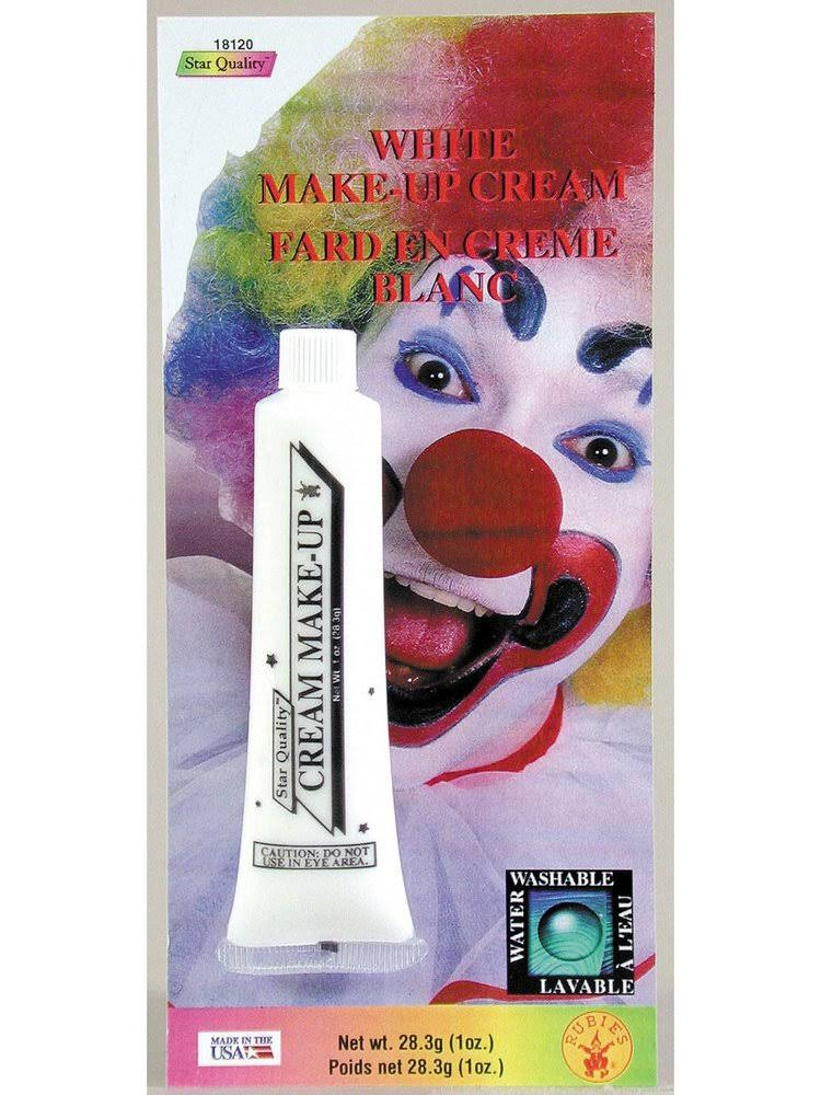 Rubie's Cream Makeup Face Paint - White, 1oz