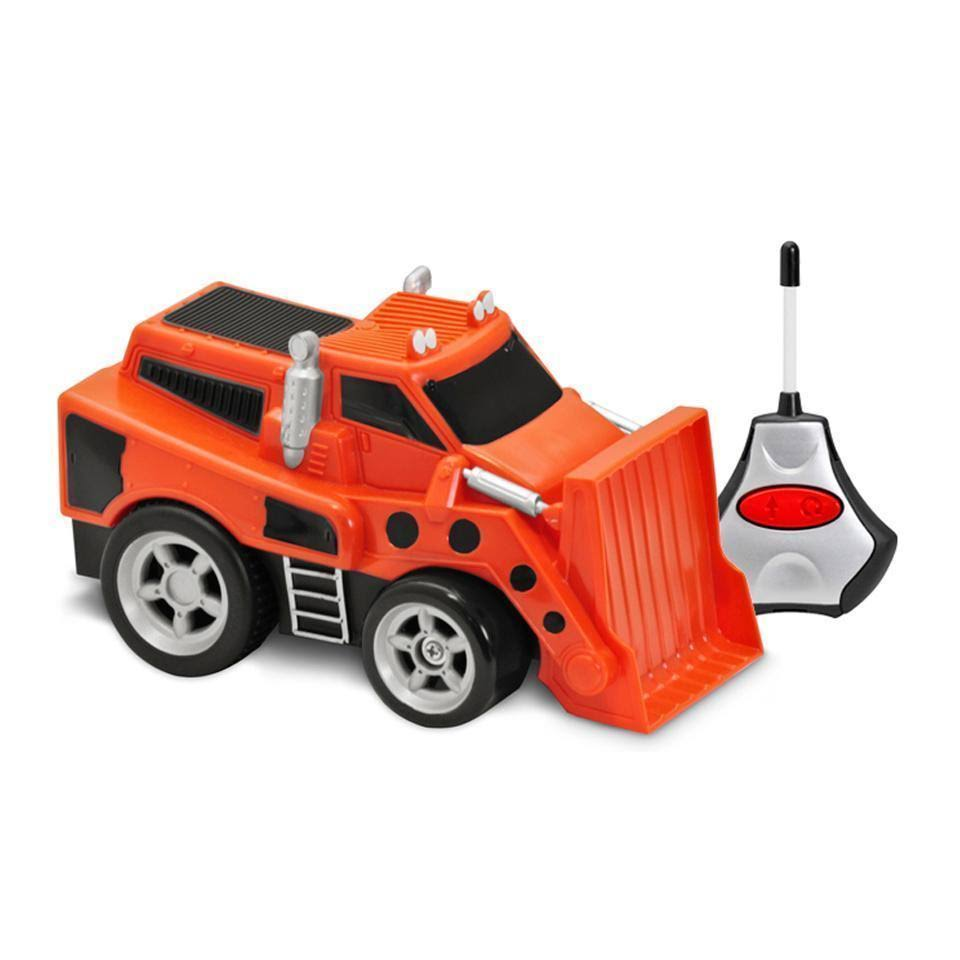 Kid Galaxy Squeezable Radio Control Bulldozer Toy