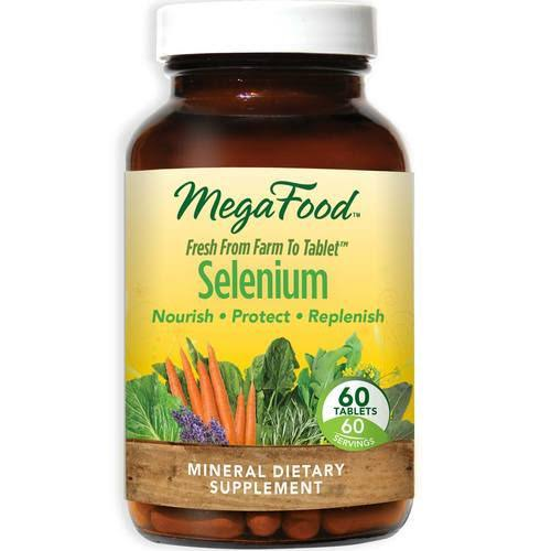 MegaFood Selenium Dietary Supplement - 60 Tablets
