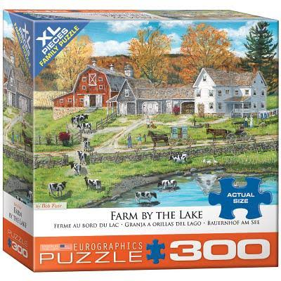 Eurographics Farm By The Lake Jigsaw Puzzle - X-Large, 300pcs