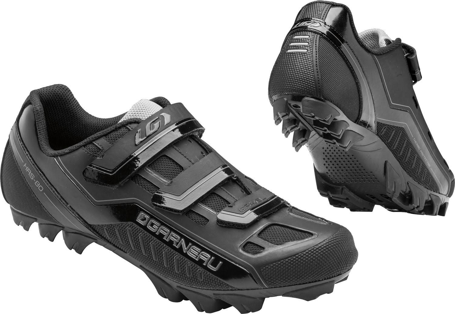 Louis Garneau Men's Gravel Cycling Shoes - Black, 41 EU