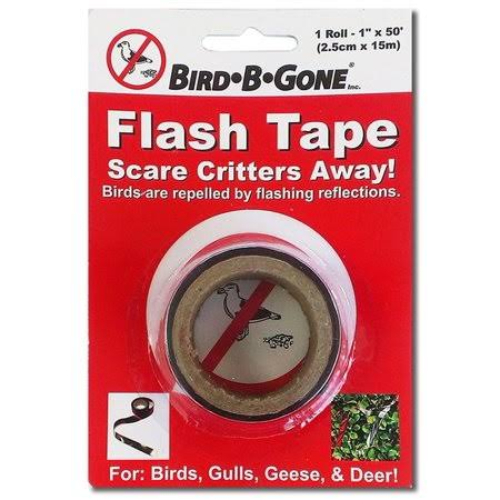 "Bird B Gone Flash Tape Bird Deterrent - 1""x50', 1ct"