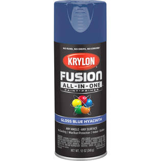 Krylon Fusion All-In-One Spray Paint & Primer - Gloss Blue, 12oz