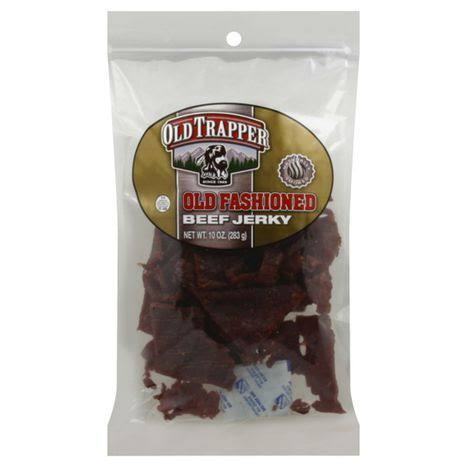 Old Trapper Old Fashioned Beef Jerky - 10 oz