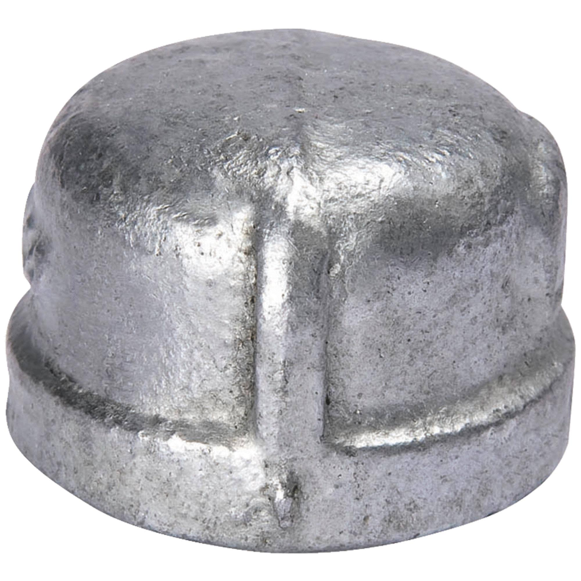 Mueller Global Galvanized Malleable Iron Cap - 3/8in