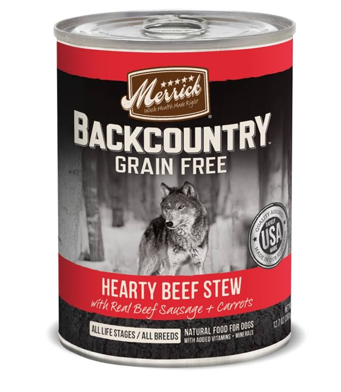 Merrick Backcountry Dog Food - Hearty Beef Stew