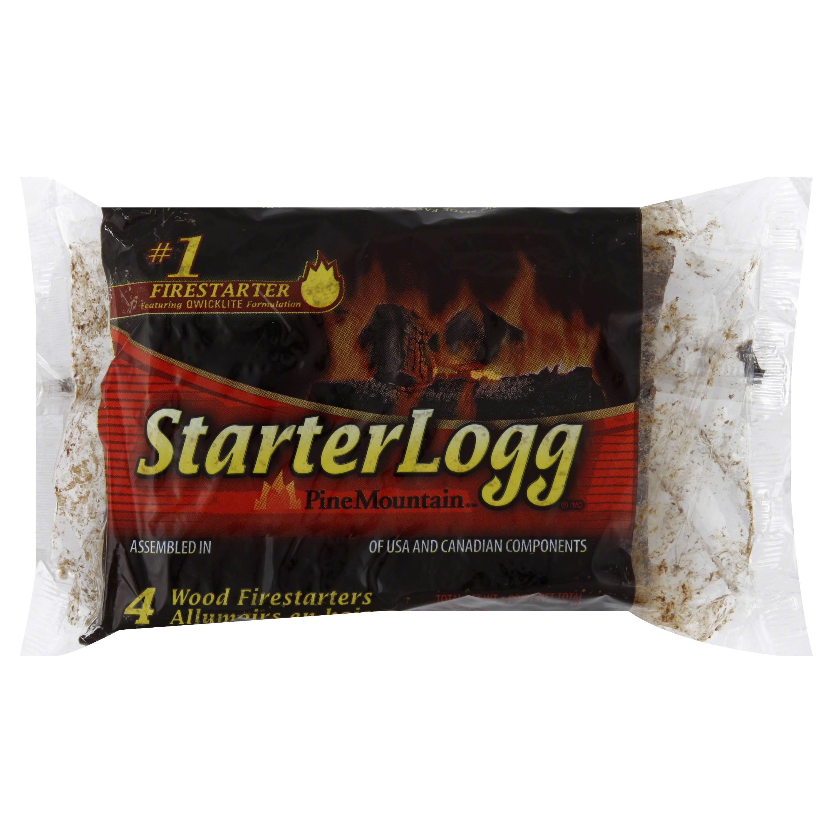 Pine Mountain Firestarters Starterlogg Firestarting Blocks - 24 Wood Firestarters