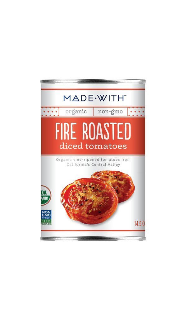 Made With Fire Roasted Diced Tomatoes - 14.5oz