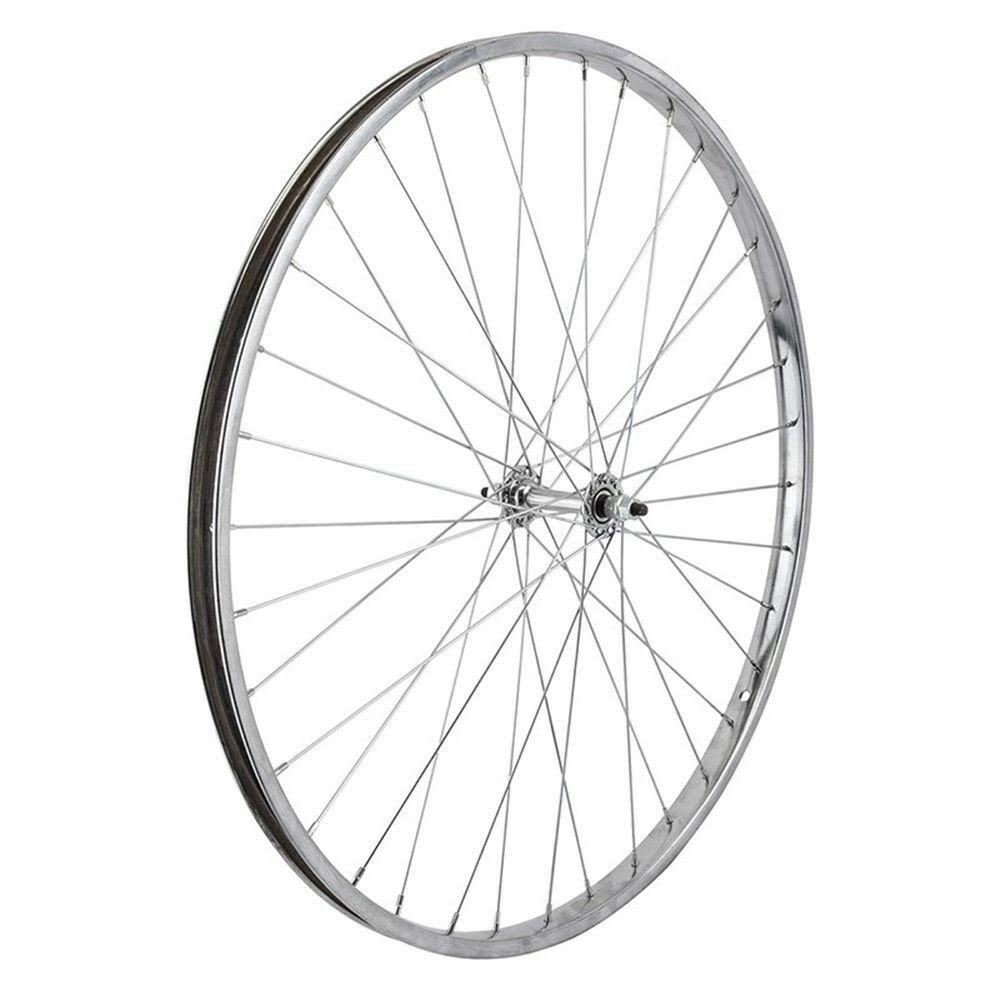 "Wheel Master Front Bicycle Wheel - 26"" x 1 3/8"", 36H, Steel, Bolt On, Silver"