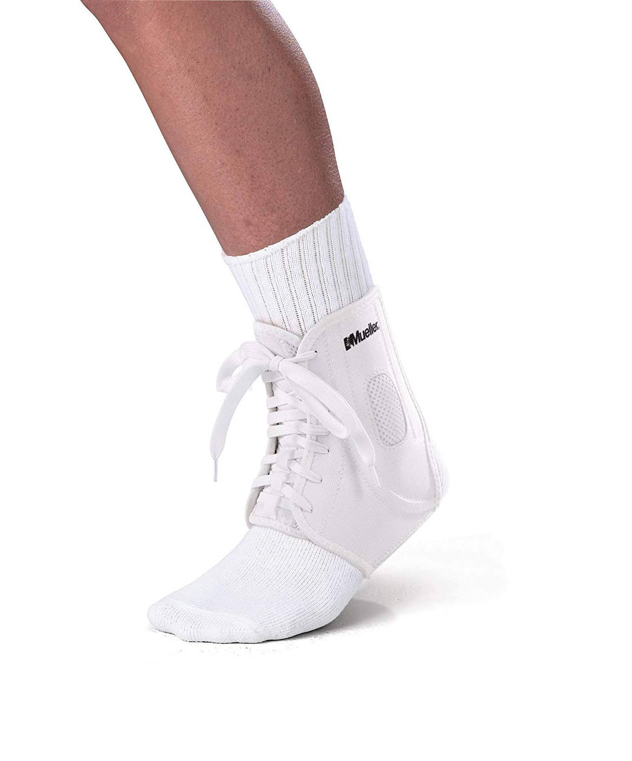 Mueller ATF2 Ankle Brace - White, Large