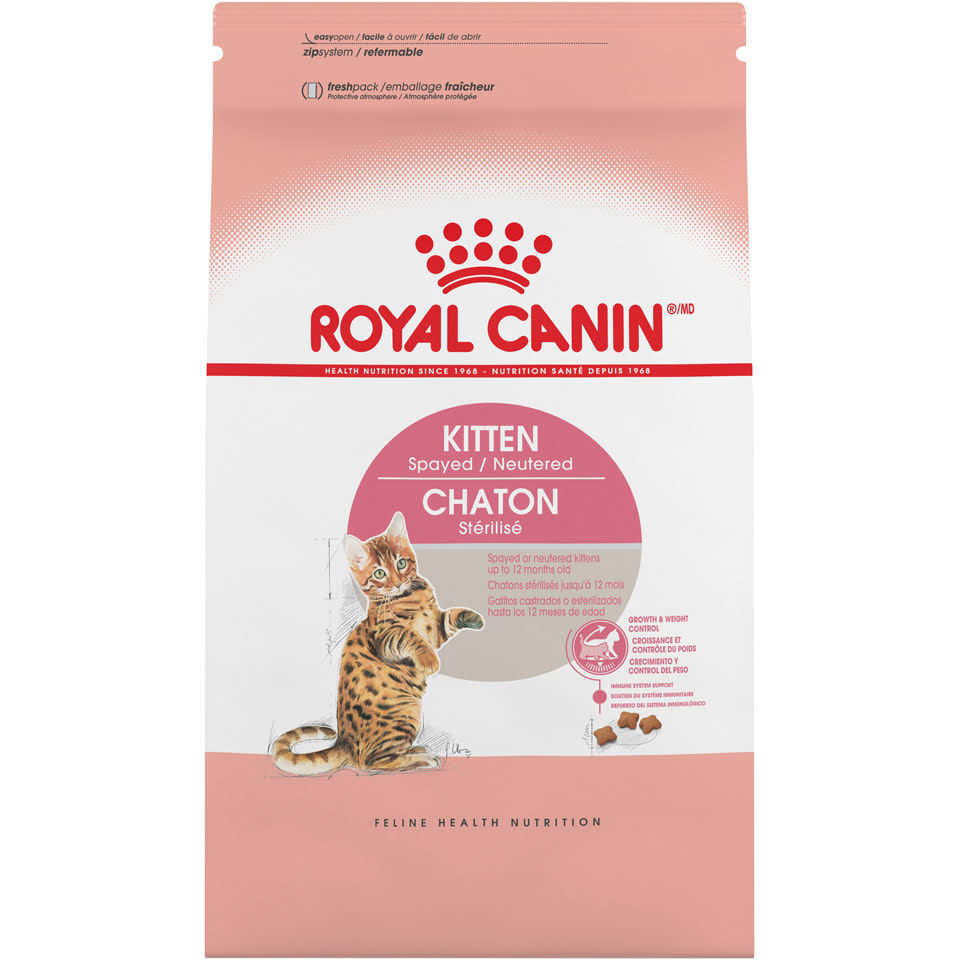 Royal Canin Feline Health Nutrition - Kitten Spayed, 2.5lb