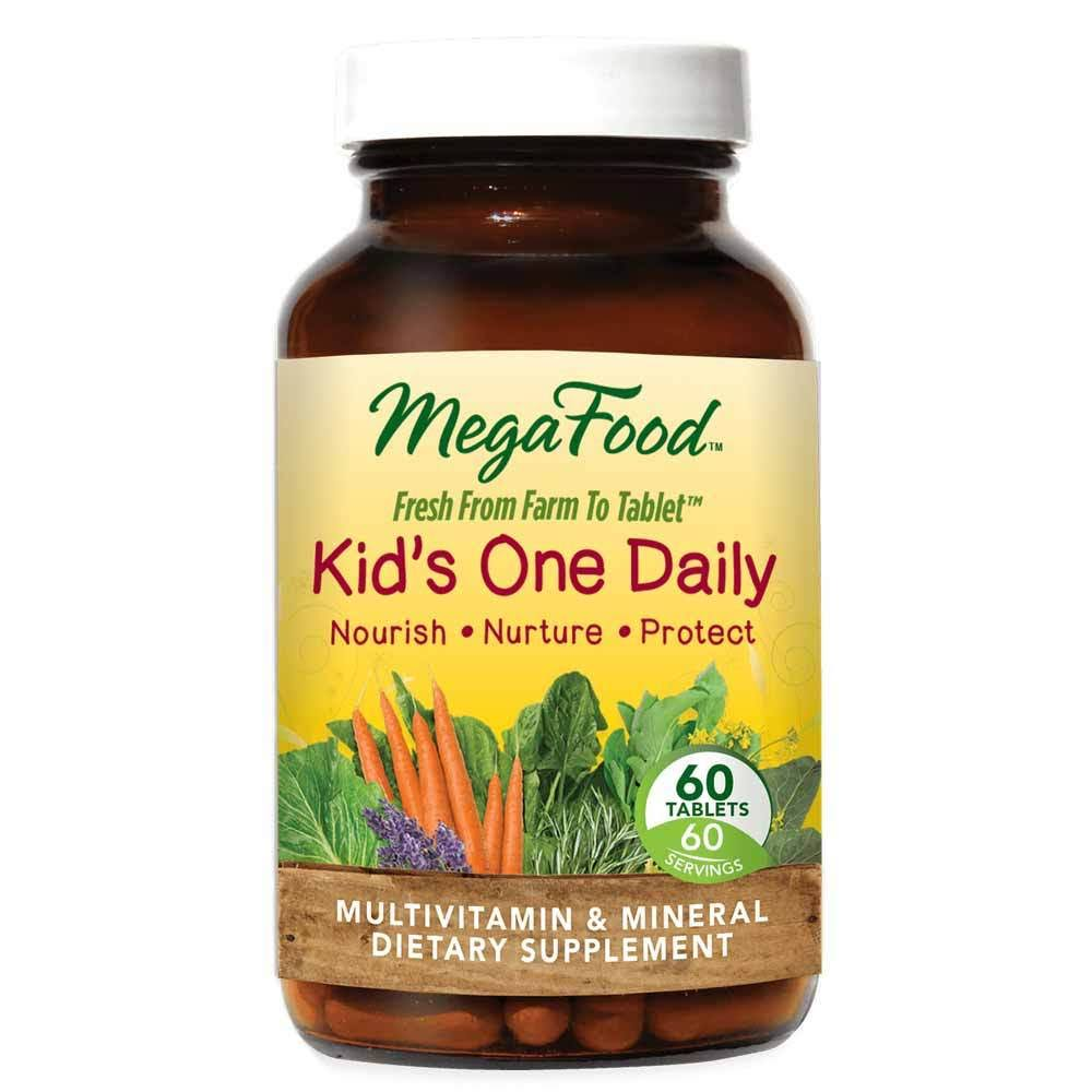 MegaFood Kid's One Daily Dietary Supplement - 60 Tablets