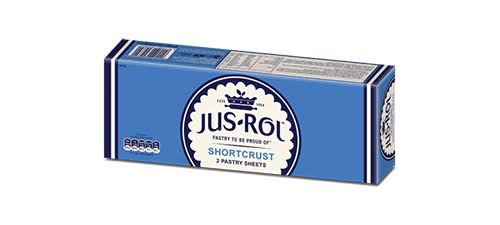 Jus-Rol Shortcrust Pastry Sheets - 2 Pastry Sheets, 640g