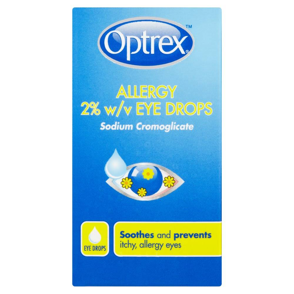 Optrex 2wv Sodium Cromoglicate Allergy Eye Drops - 10ml
