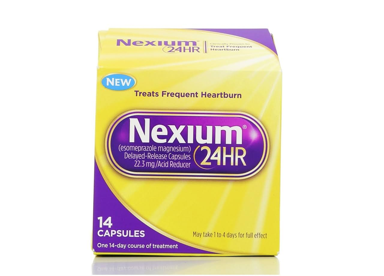 Nexium 24HR Treats Frequent Heartburn Capsules - 14 Count