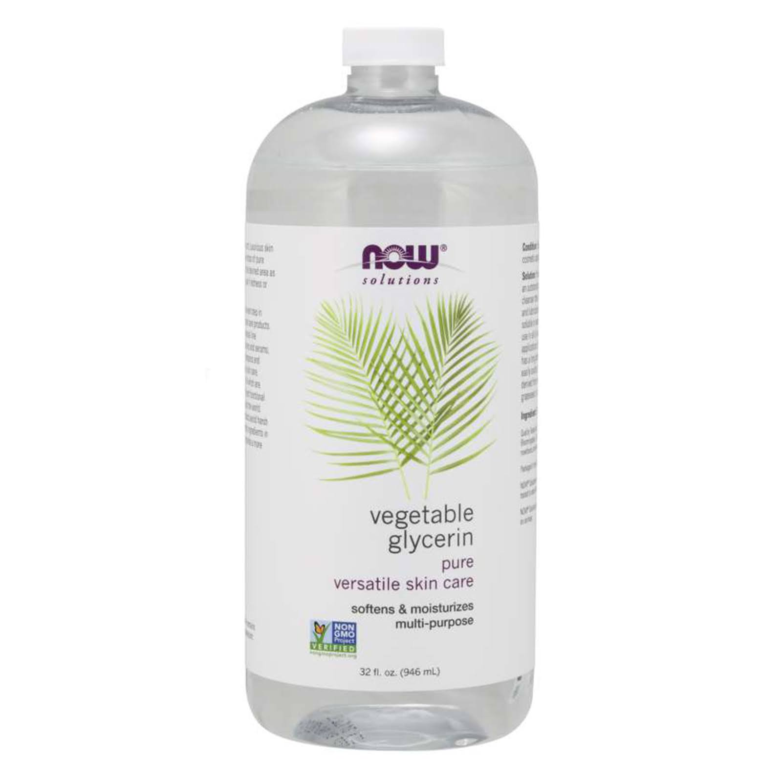 Now Foods Vegetable Glycerin - 32 fl oz Liquid