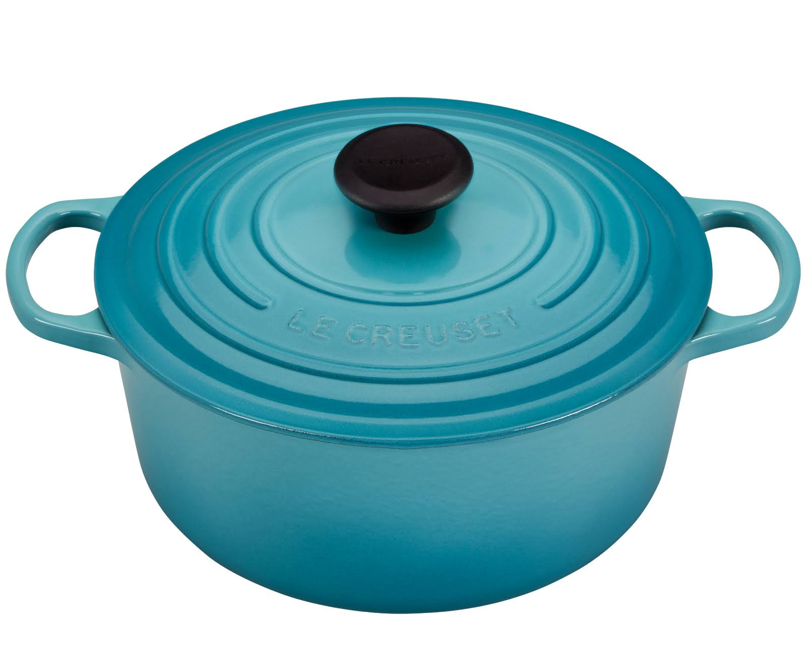 Le Creuset Signature Cast Iron Round Dutch Oven - 5.2l, Caribbean