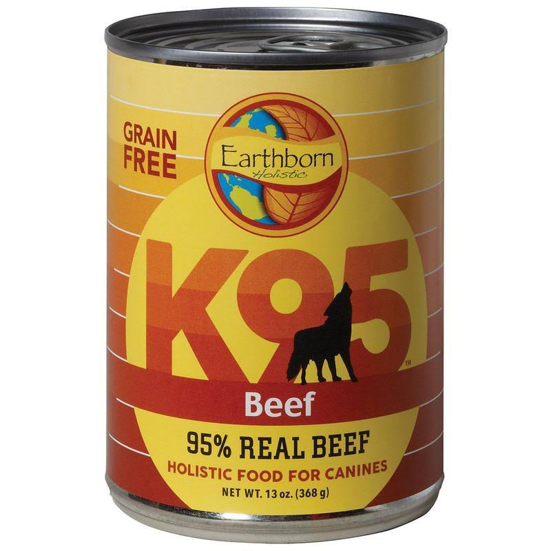 Earthborn Holistic K95 Grain Free Dog Food Beef 13 oz