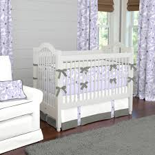 Lavender And Grey Bedding by Purple And Grey Nursery Bedding Thenurseries