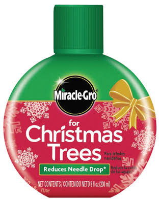 Miracle Gro Christmas Tree Food Formula - 8oz