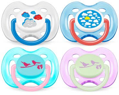 Philips Avent Fashion Orthodontic Soothers - 0-6m, 2 Piece