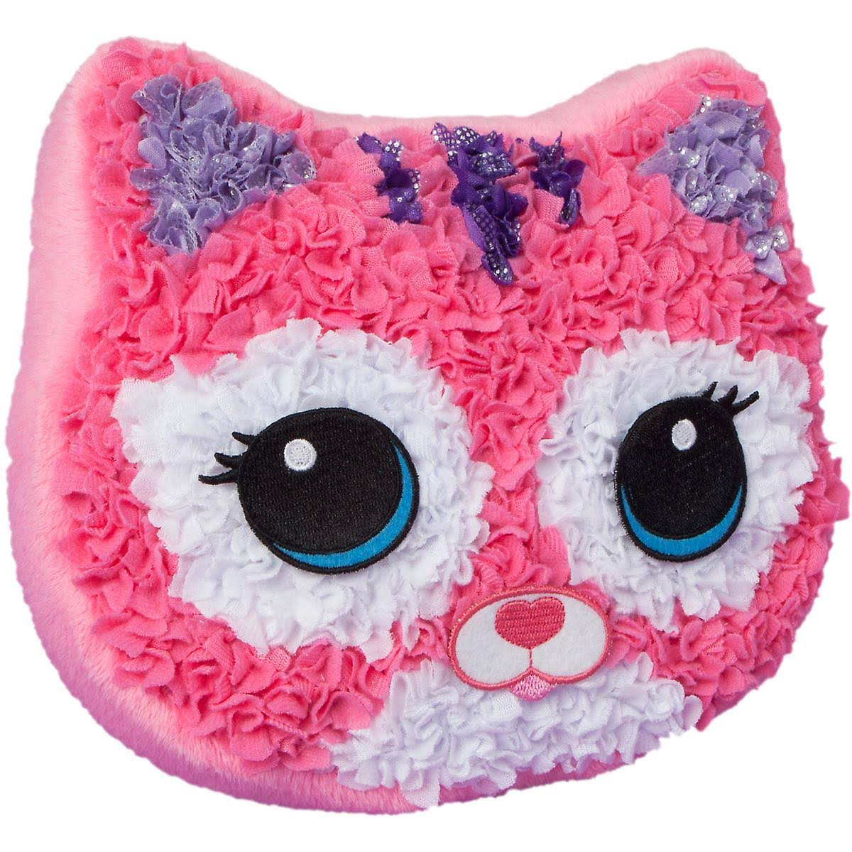 The Orb Factory Plush Craft Purr-Fect Pillow Kit