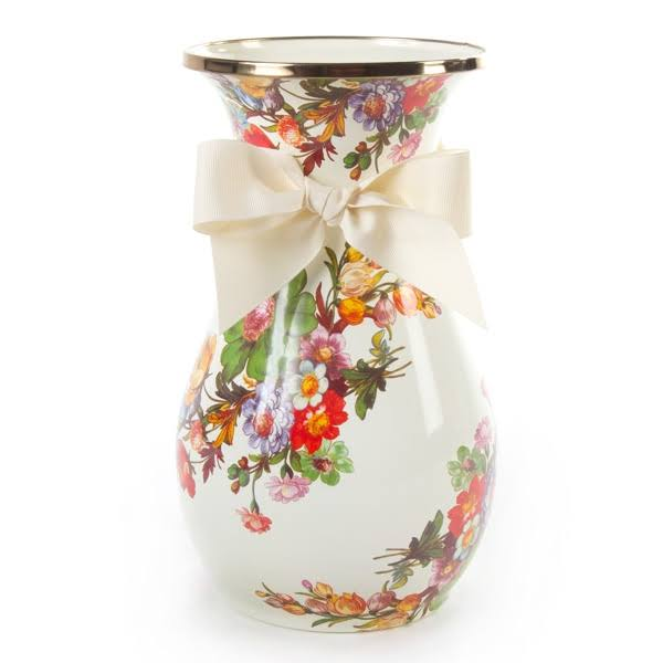 MacKenzie-Childs Flower Market Vase - Tall