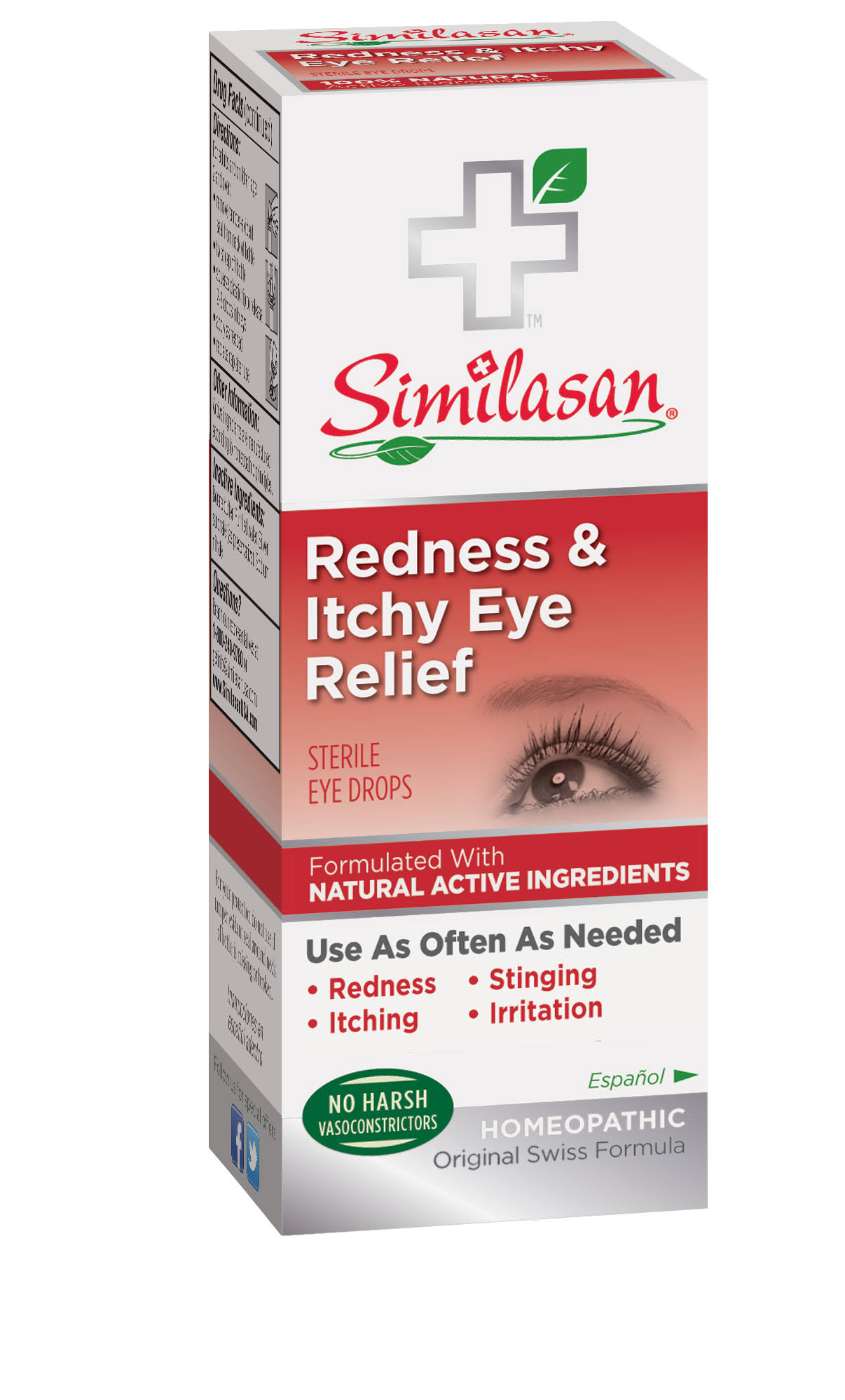Similasan Redness & Itchy Eye Relief Drops - 10ml