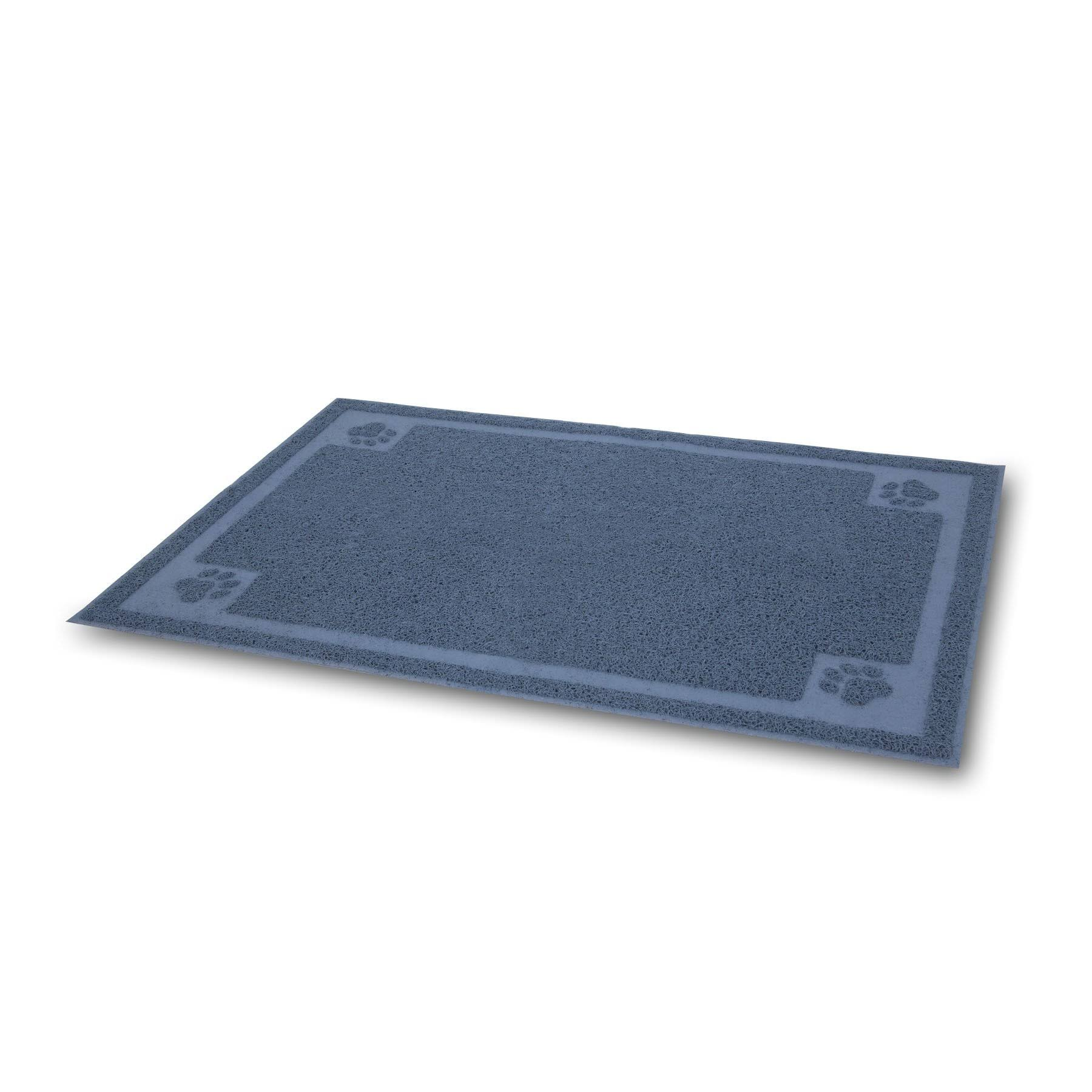 Petmate Litter Catcher Mat - Ice Blue, Large