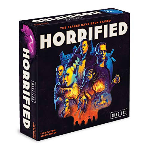Ravensburger Universal Monsters Horrified Game Strategy Board Game