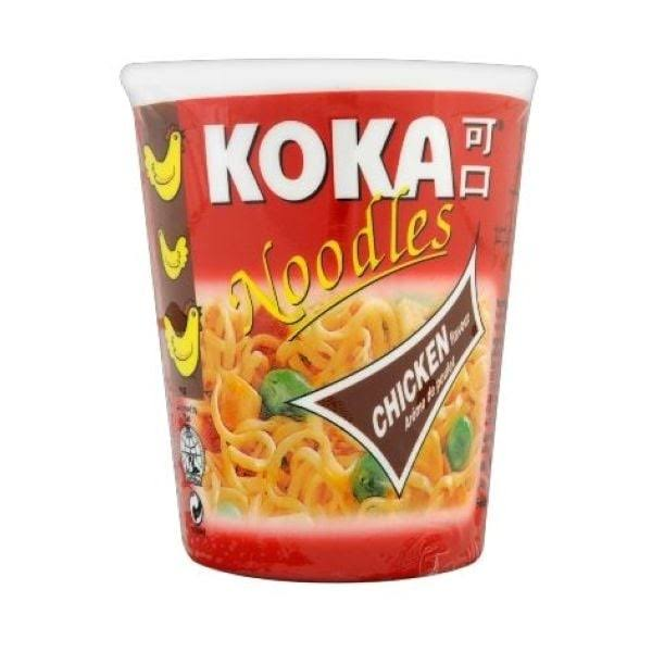 Koka Pot Noodles Chicken 12x70g
