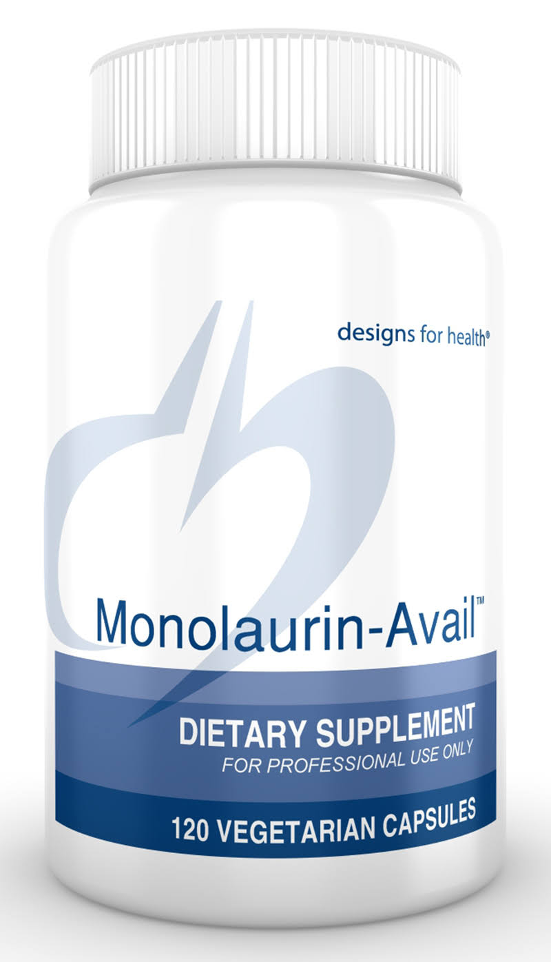 Designs for Health Monolaurin-Avail Vegetarian Capsules - x120