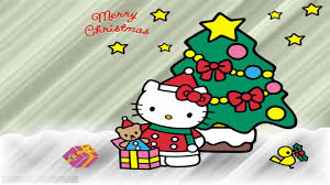 Kinds Of Christmas Trees by Hd Wallpaper Hello Kitty With Kinds Of Gifts Under The Christmas