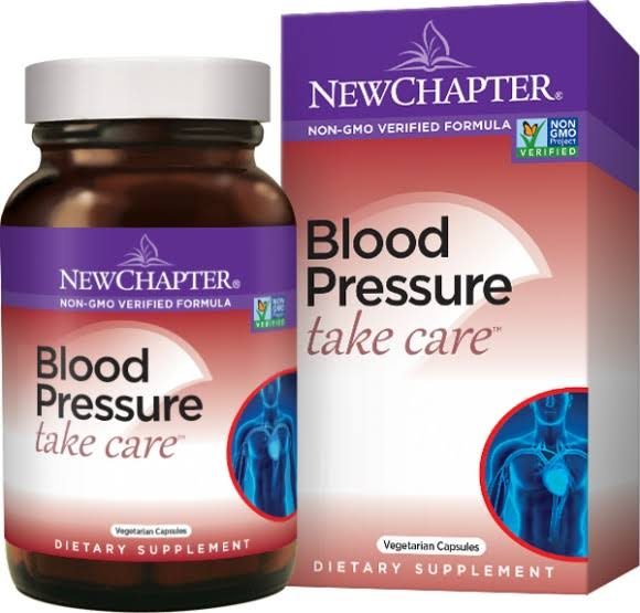 New ChapterBlood Pressure Take Care - 60 Vegetarian Capsules