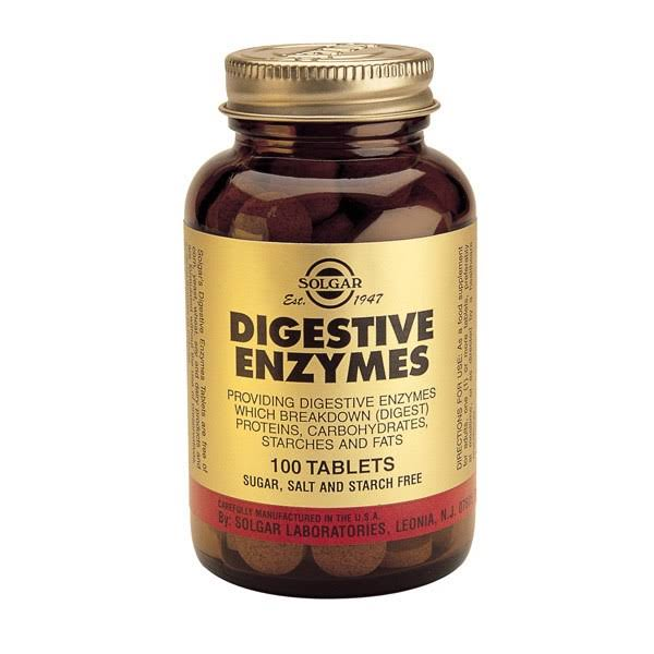 Solgar Digestive Aid Dietary Supplement - 100 Tablets