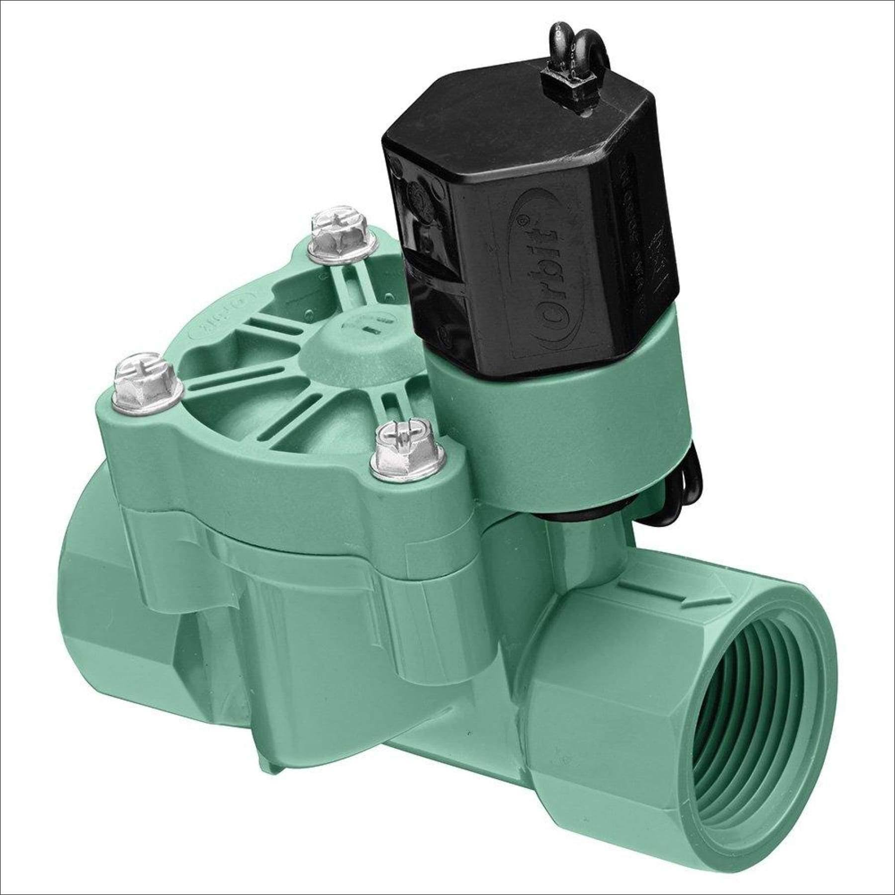 "Orbit Electric Inline Irrigation Valve - 0.75"", Plastic"