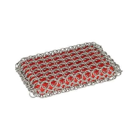 Lodge Chainmail Scrubbing Pad - Red