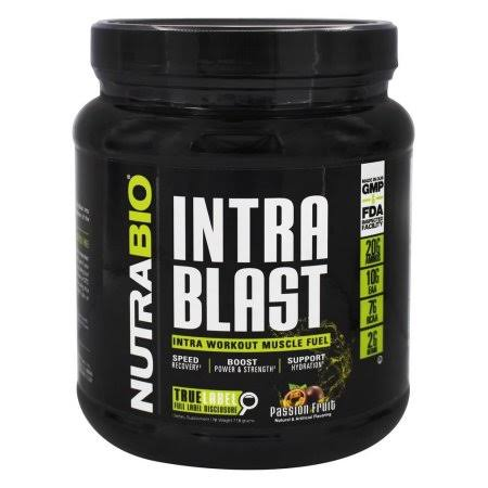 NutraBio Intra Blast Powder - Passion Fruit, 718g