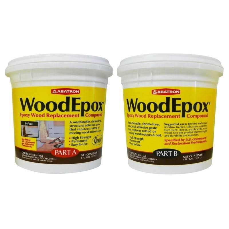 Abatron Woodepox Epoxy Wood Replacement Compound Kit - 2gal