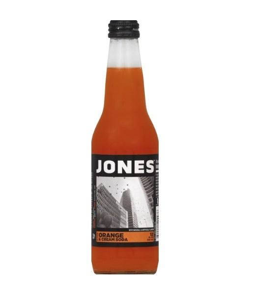 Jones Soda, Cane Sugar, Orange & Cream Flavor - 12 fl oz
