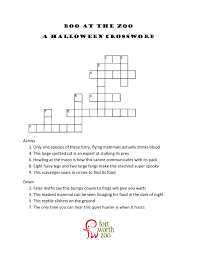 Haunted Halloween Crossword halloween printable 3rd grade crossword puzzles u2013 festival collections