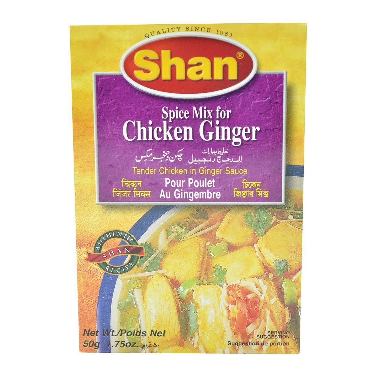 Shan Ginger Chicken Mix 50g