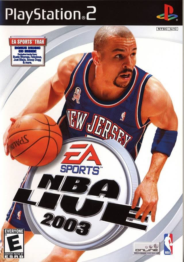 NBA Live 2003 - PlayStation 2