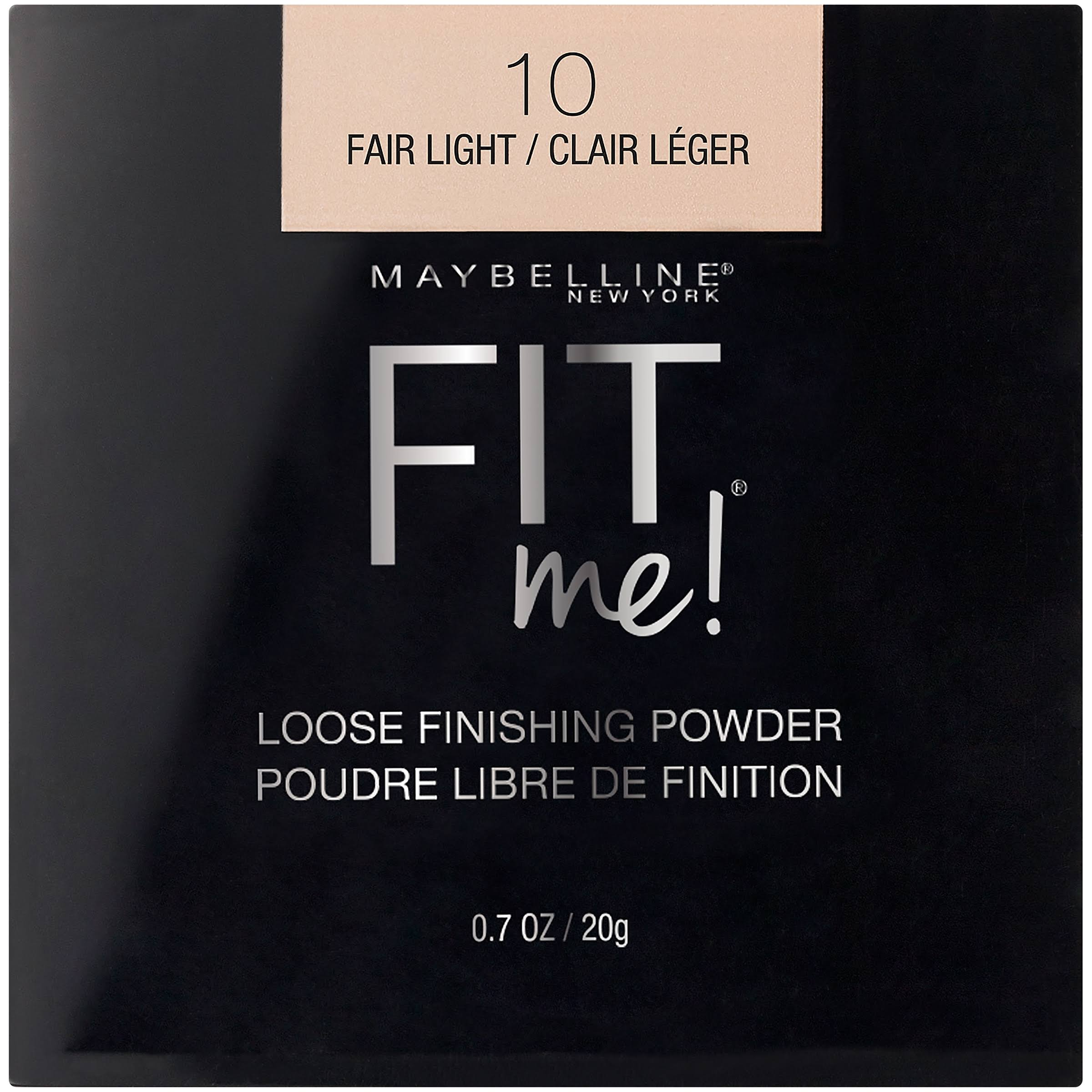Maybelline New York Fit Me Loose Finishing Powder - 10 Fair Light, 20g