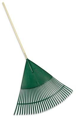 Ames True Temper Poly Lawn Rake - Green, 30'', 12 Pack