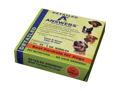 Answers Detailed Beef Nibbles 1 Oz/2 lb
