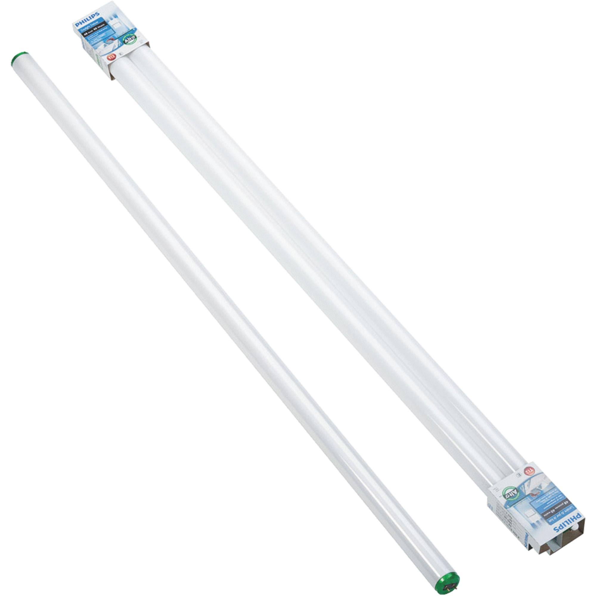 Philips 543421 40-Watt 4 ft. Linear T12 Alto Fluorescent Tube Light Bulb Cool White (4100K) (2-Pack)