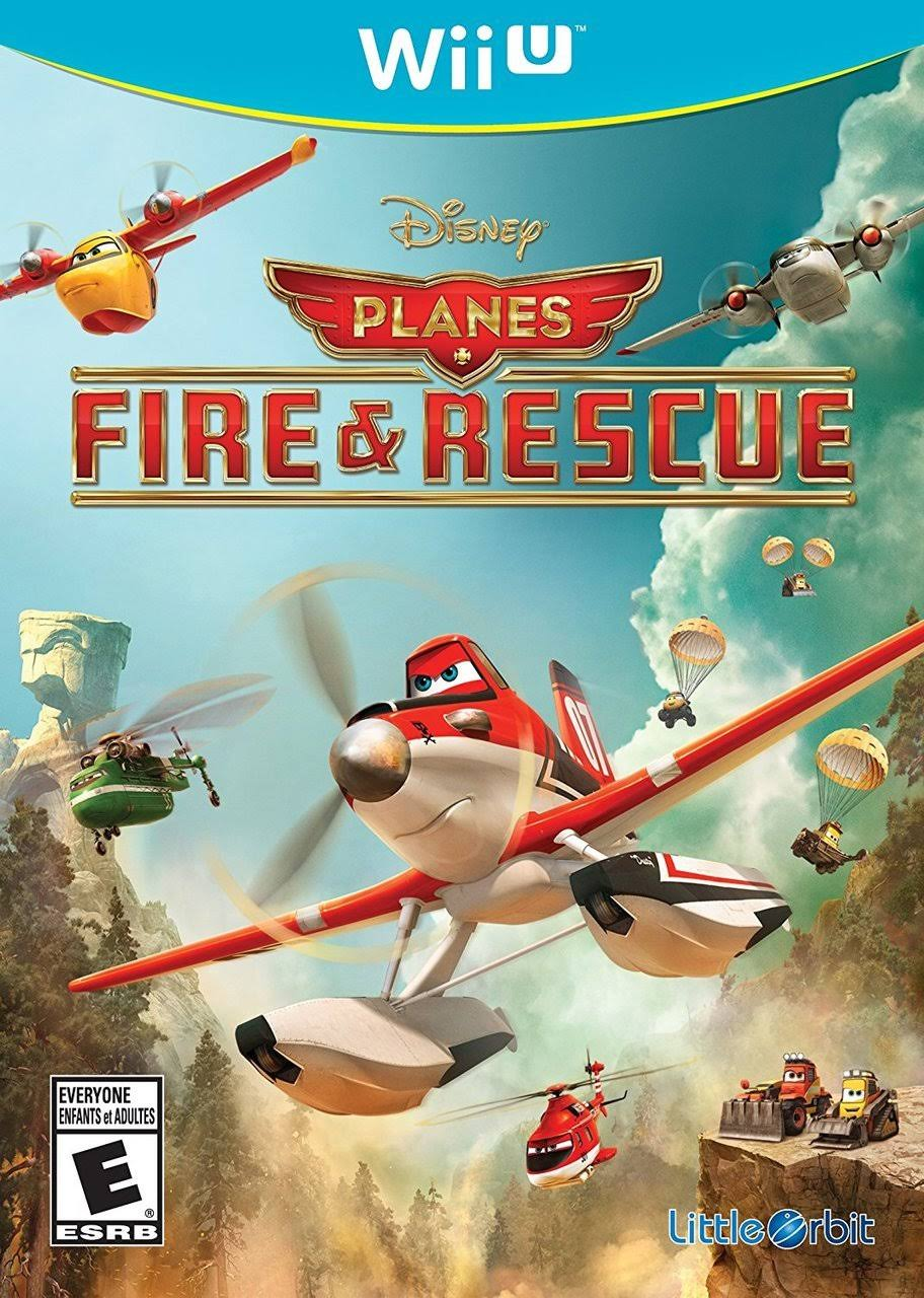 Disney Planes Fire and Rescue - Nintendo Wii U