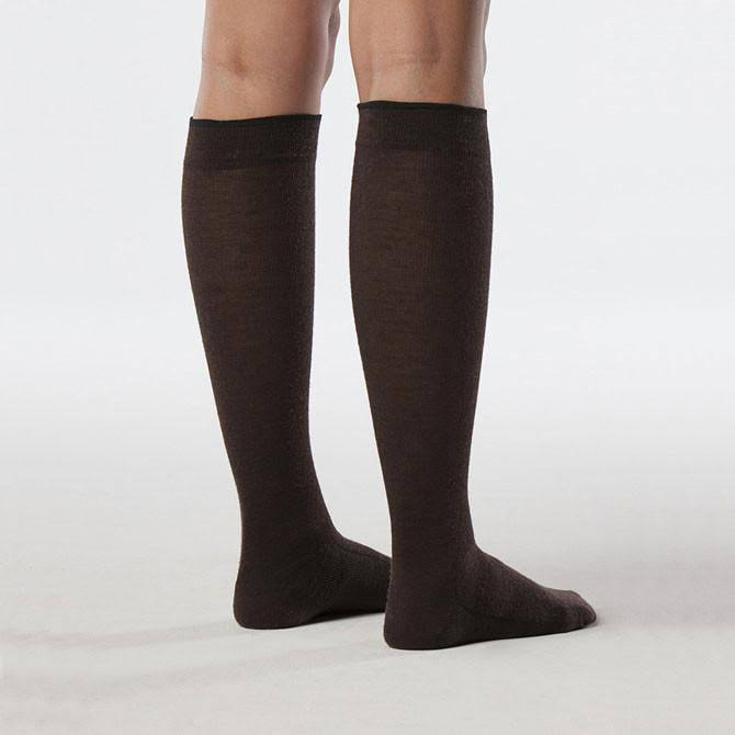 Sigvaris Women's All-Season Wool Compression Socks A / Brown